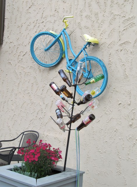 blue bicycle clinton