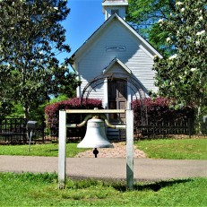 chapel in strawberry patch park april 24