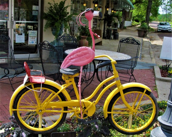 flamingo bicycle clinton