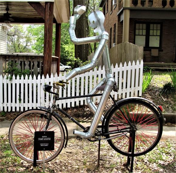 tin bicycle man clinton march 28 2017