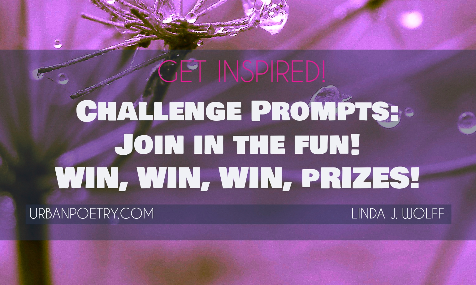 Image of Join our challenge prompts