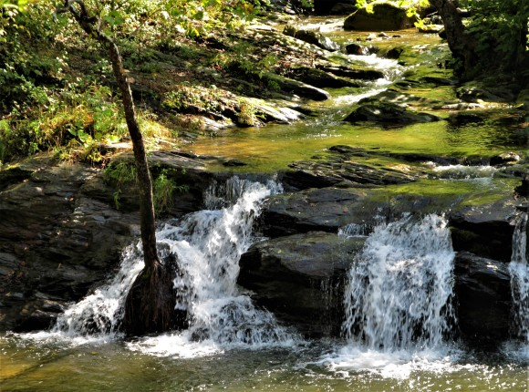 smokey mountain waterfall 2