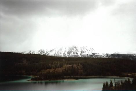 snow capped mountain alaska