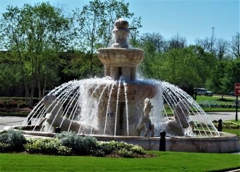 renaissance water feature april 1