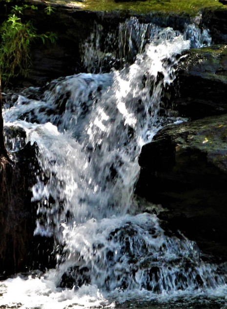 waterfall structure